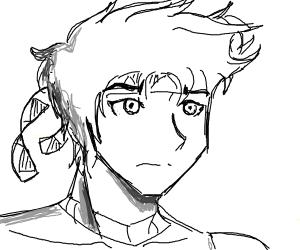 Joseph w/Caesar's headband