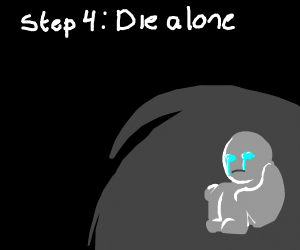 Step 3: Hide away from all people
