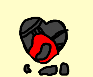 A heart in armour