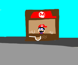 mario starts a coffee store