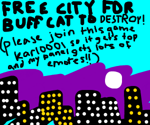 Free cities for Karl's buff cats to destroy