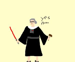 Ruth Vader Ginsburg says Yes man