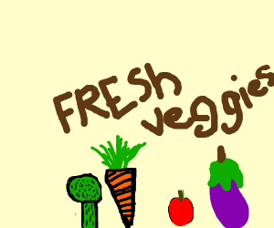Fresh veggies!