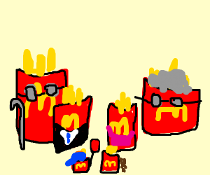 mcdonalds french fries raise a family
