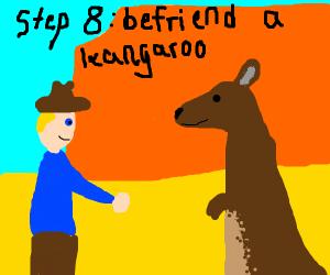 Step 7: Hide in Australia and seek refuge