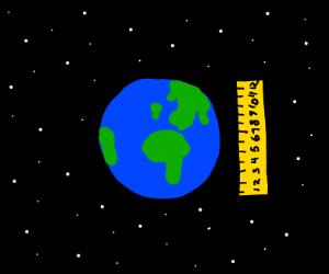1 foot earth