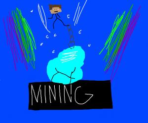 Mining ( Minecraft parody song )