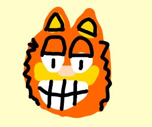 garfield but its cheshire cat