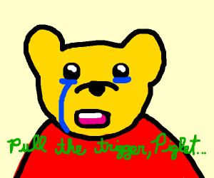 Pooh, but sad