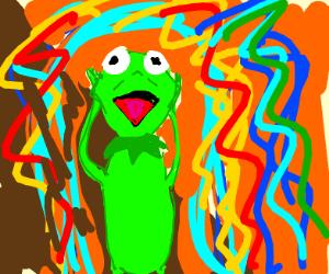 """The Scream"" but it's Kermit!"