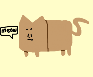 vague bread cat