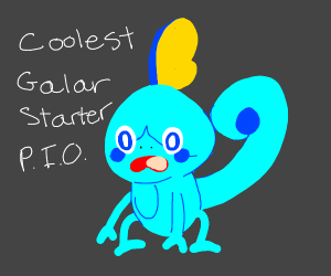 pio. which is coolest galar starter??? :) XD