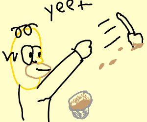 Homer Simpson ogling a spatula