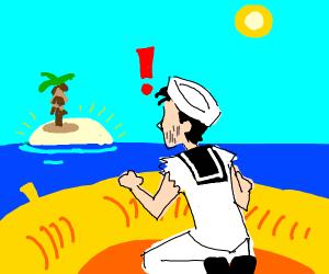 sailor spots land