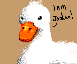 Duck claims to be Jordan
