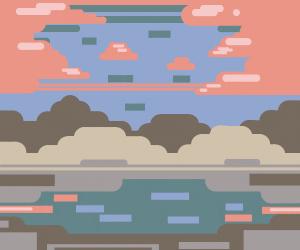 A Minecraft Sunset