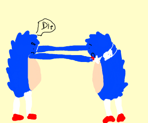 Sonic strangles Sonic