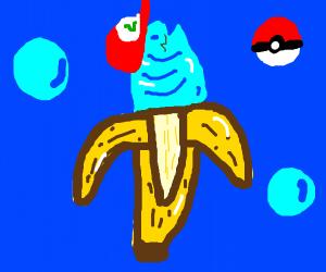 Ash Ketchum is a fish in a banana