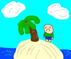 Stuck on desert island