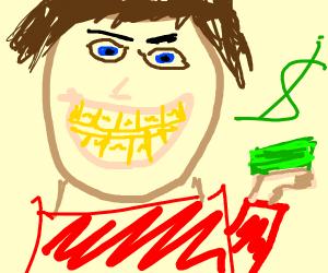 I got gold teeth!