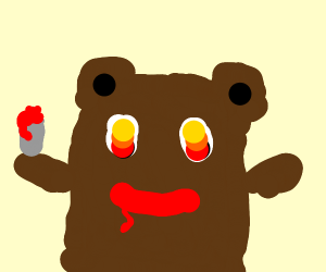 the bear is gonna get u