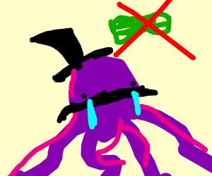 poor octopus