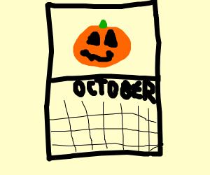 Halloween month