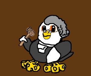 An eagle judge