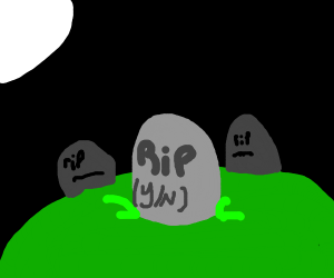 Visiting your grave