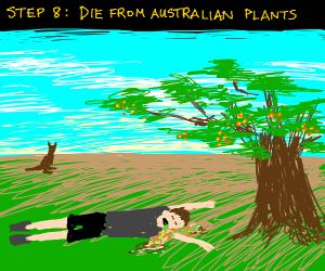 Step 7: Don't die from Australian animals
