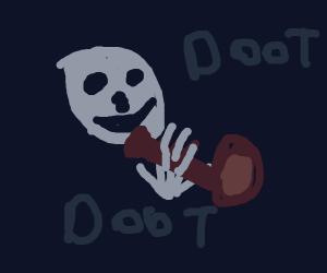 Skeleton (bonus points if nobody says sans)