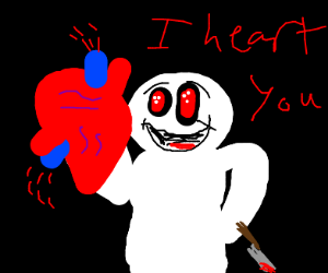 theodd1sout is a yandere