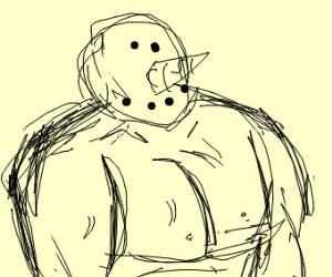 anti steroid muscular snowman