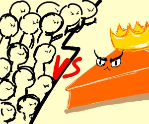 human race vs pie