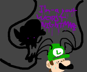 waluigi: im-a your worst nightmare!