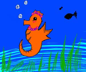 Peaceful Seahorse