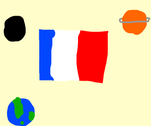 France can into space