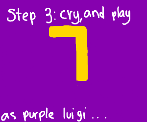 Step 1: Attempt to get Waluigi in Smash