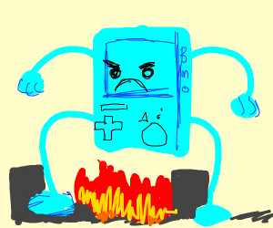 Angry Mutant BMO