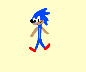 Sonic Da Stick Hedgehog