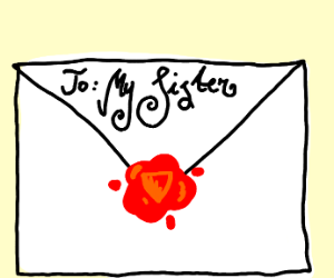 Sealed letter to your sister