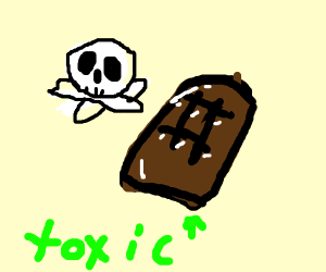chocolate is toxic