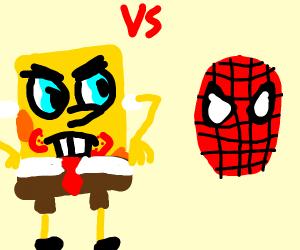 Spongebob versus Spider-Man