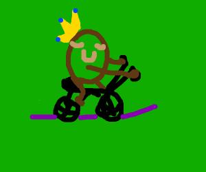 Queen Biking