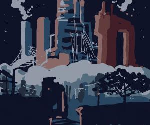 Dystopian Cybercity