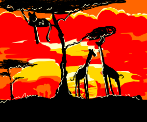 Pretty sweet African sunset