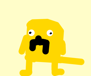 that dog from adventure time