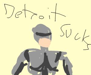 Robocop saying his famous line