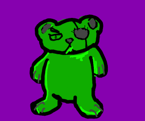 oh i'm a (EVILIOUS) gummy bear...