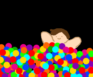 every ball in a ballpit